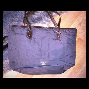 Tommy Hilfiger carryall tote